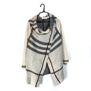 Stitch Fix RD Style Streeter Plaid Draped Sweater
